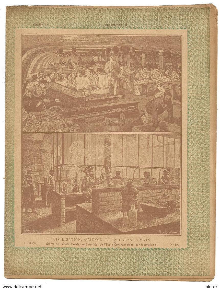 PROTEGE-CAHIER - Civilisation, Science Et Progrès Humain N° 19 - Protège-cahiers