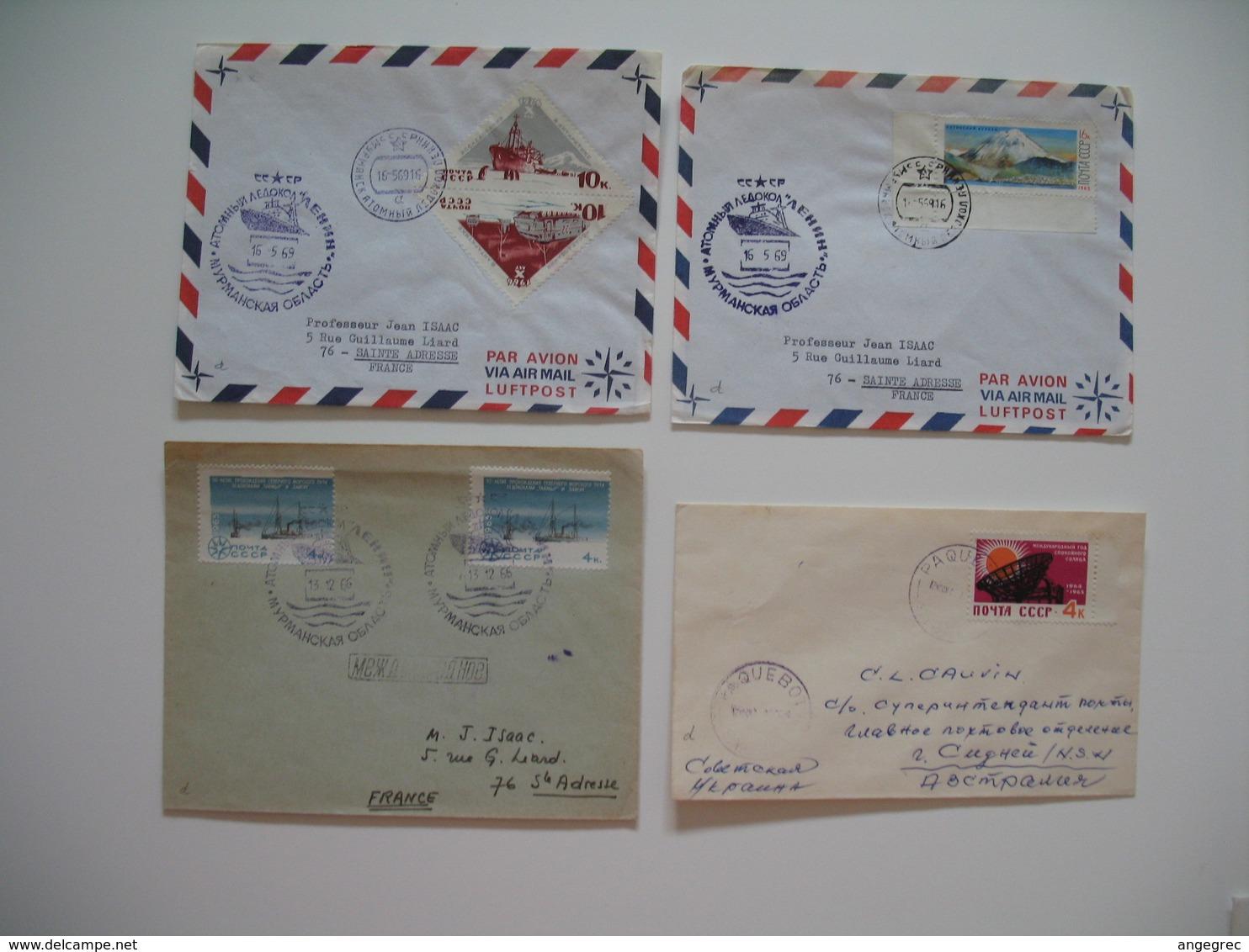 Lettre Explorations Polaires Des Russie Opération Deep Freeze Antarctic Arctic South North Pole  à Voir - Machine Stamps (ATM)