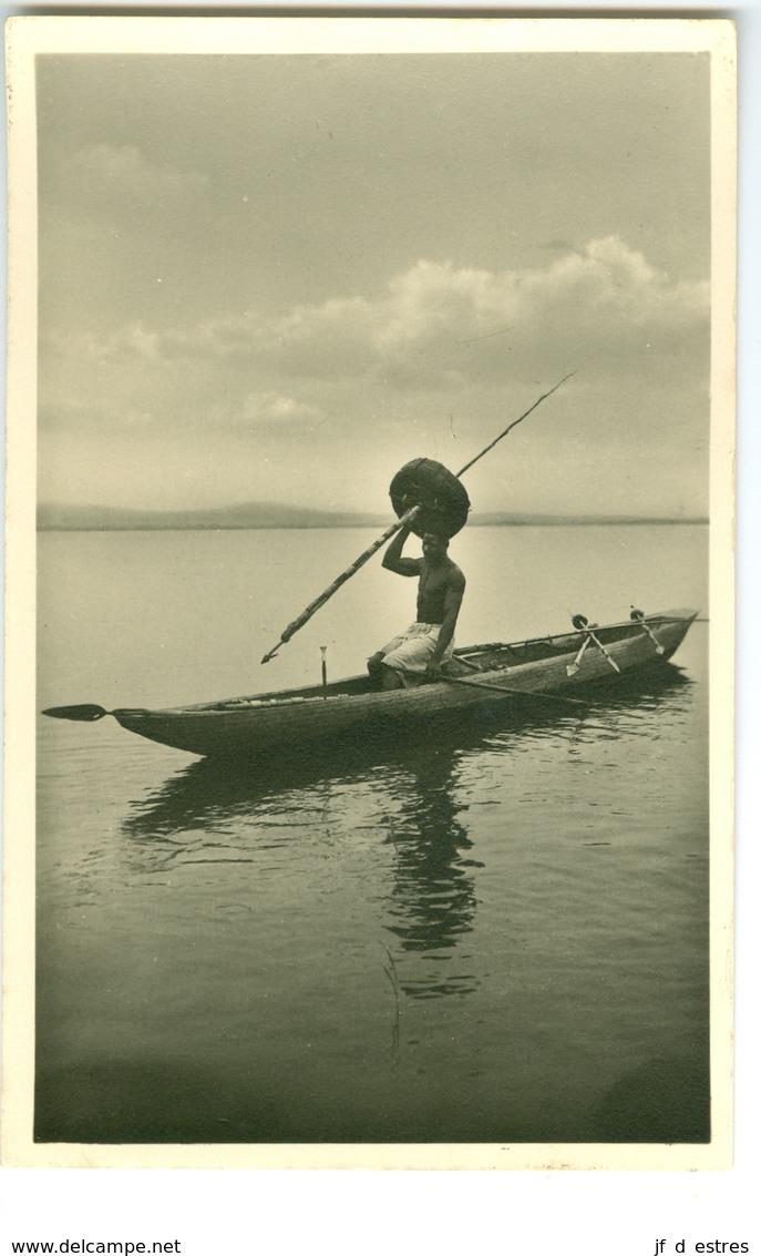 CP Pêcheur Photogr. Zagourski 1935? L'Afrique Qui Disparait 2 Congo Belge? - Zonder Classificatie