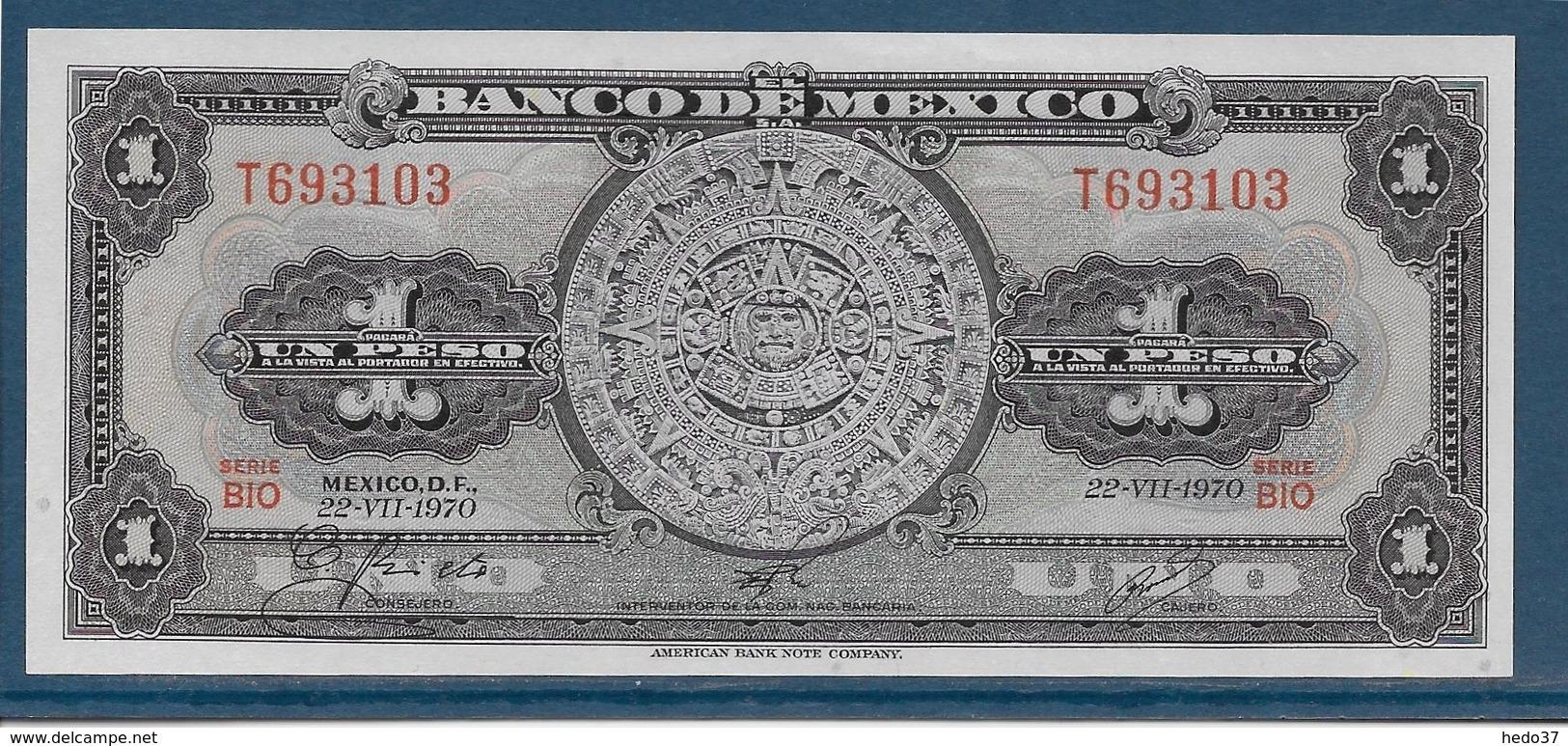 Mexique - 1 Peso - Pick N°59l - NEUF - Mexique