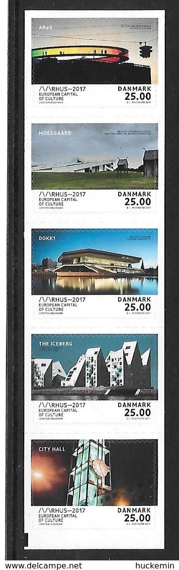 Dänemark  2017  Mi 1916 - 1920  Aarhus - Kulturhauptstadt Europas 2017   Postfrisch - Dänemark