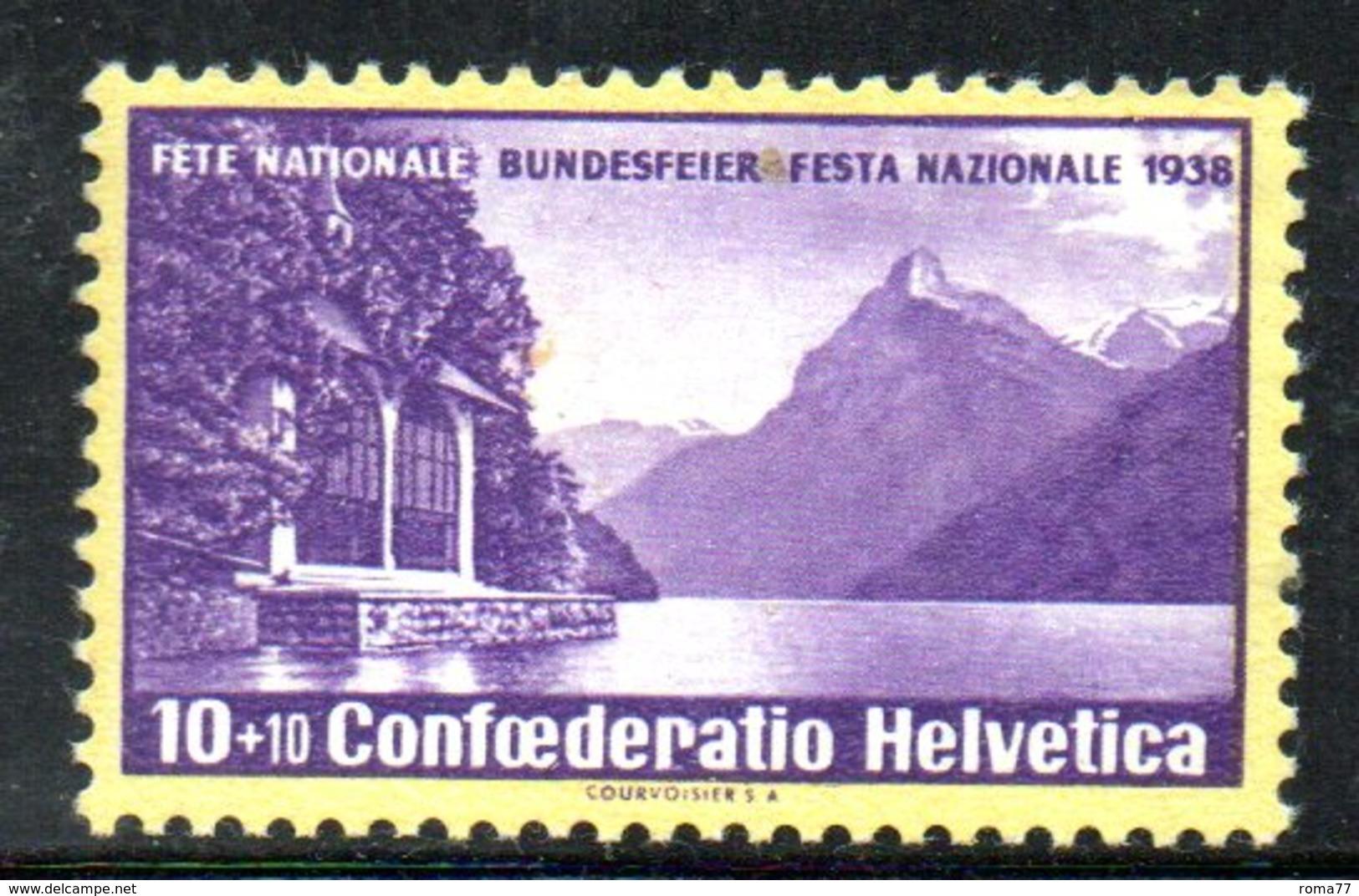 469/1500 - SVIZZERA 1938 ,  Unificato N. 311 ***  MNH   Pro Patria - Pro Patria