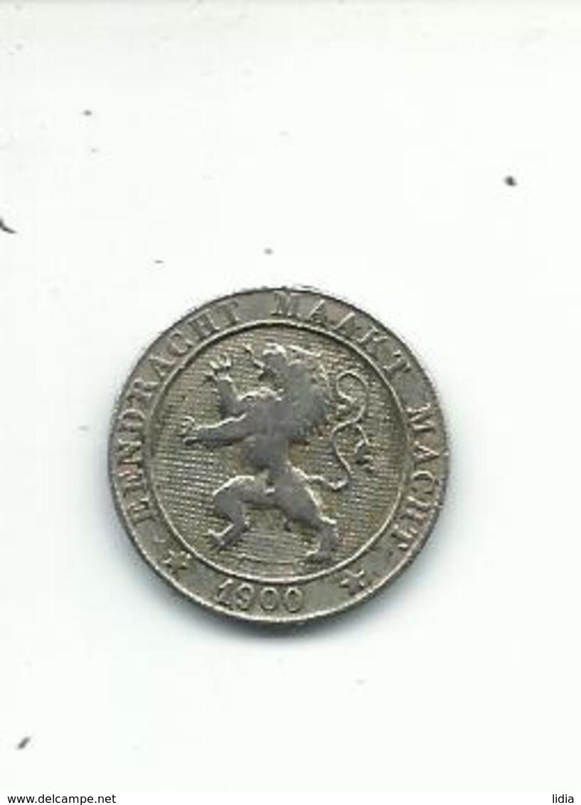 5 Cents 1900  FL - 1865-1909: Leopold II