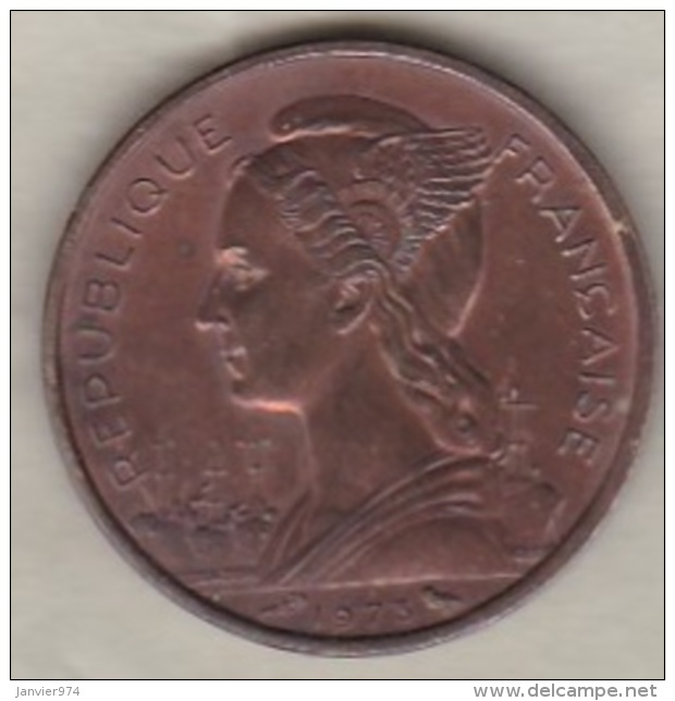 ILE DE LA REUNION. 10 FRANCS 1973 - Réunion