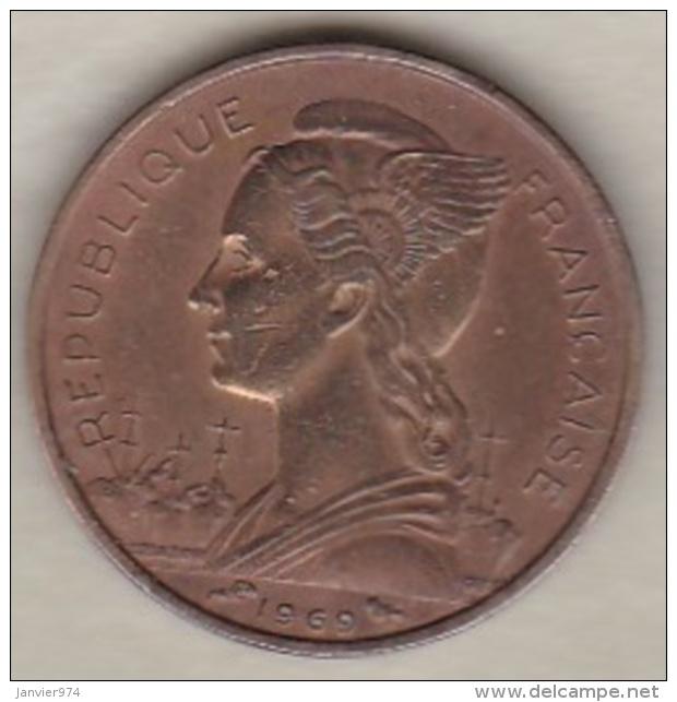 ILE DE LA REUNION. 10 FRANCS 1969 - Réunion