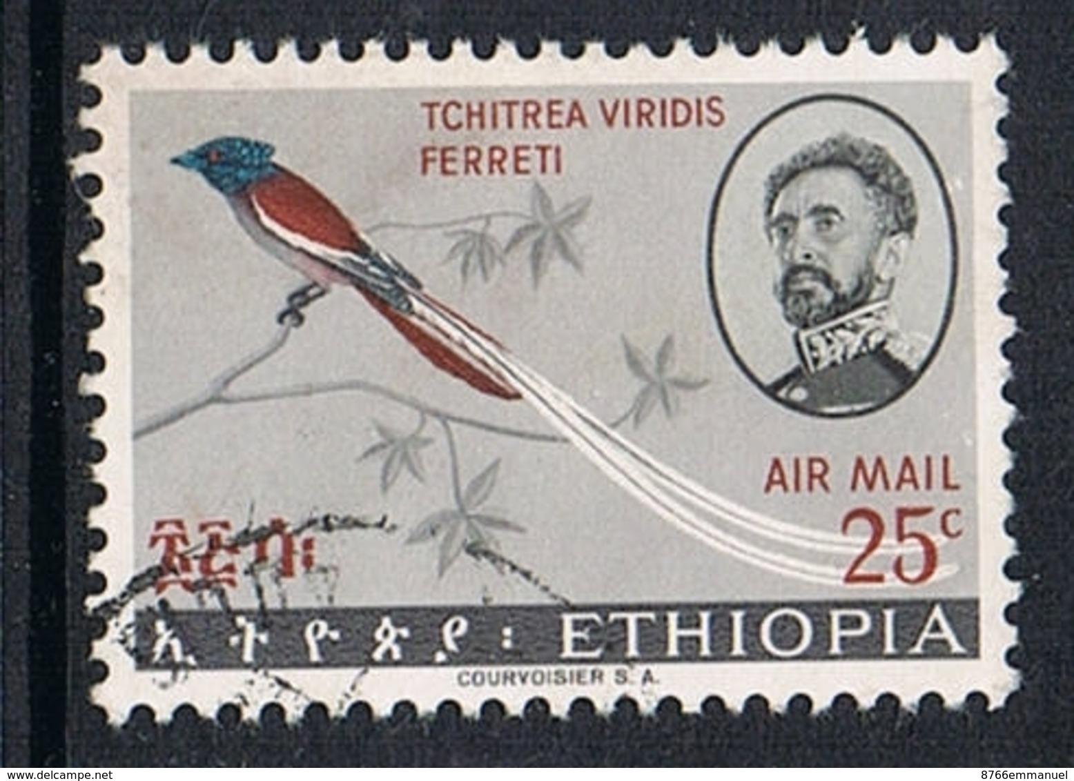 ETHIOPIE AERIEN N°96  OISEAU - Ethiopie