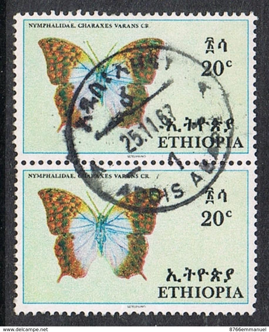 ETHIOPIE N°484 EN PAIRE - Ethiopie
