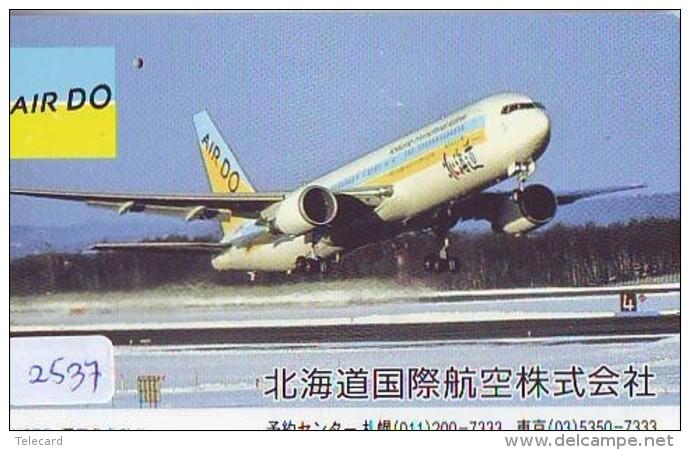 Télécarte  JAPON * AIR DO * (2537) *  AVIATION * AIRLINE Phonecard  JAPAN AIRPLANE * FLUGZEUG - Avions