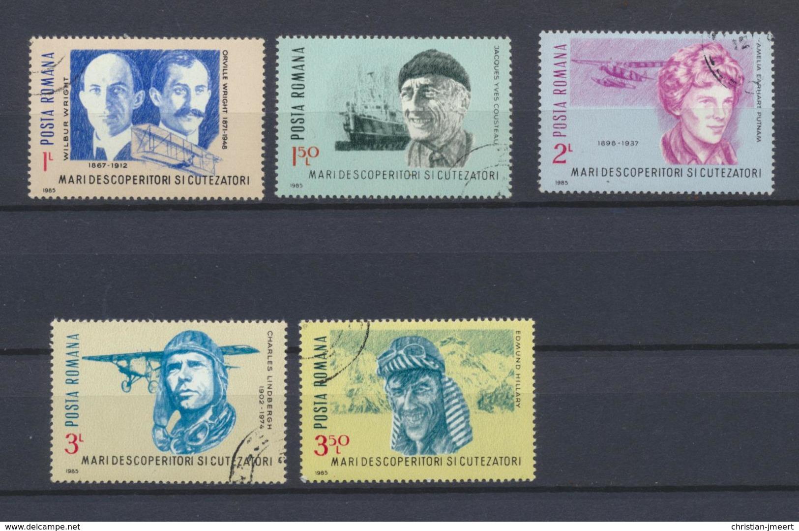 Roumanie  Lot Entre 1985 Et 2002  141 Timbres Oblitérés - Roumanie