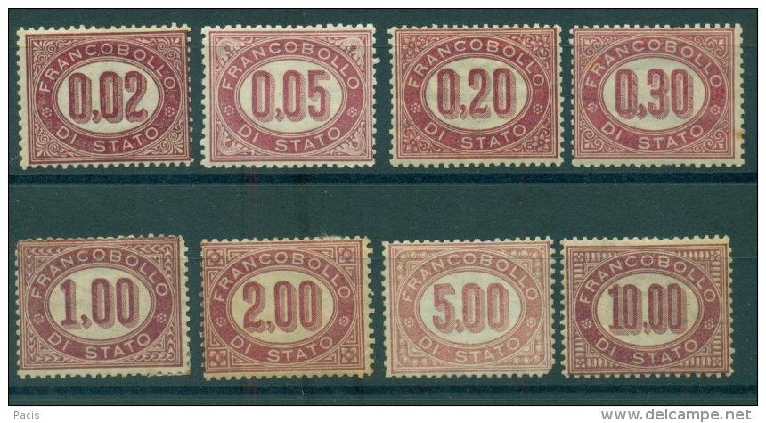 REGNO 1875  CIFRE SERVIZIO **/* - 1861-78 Vittorio Emanuele II
