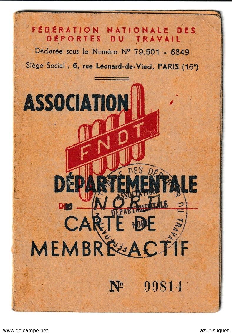 FRANCE / CARTE ASSOCIATION DES DEPORTES DU TRAVAIL / - Organizations