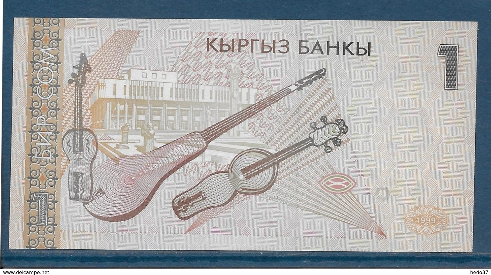 Kirghizistan - 1 Som - Pick N°7 - NEUF - Kirghizistan
