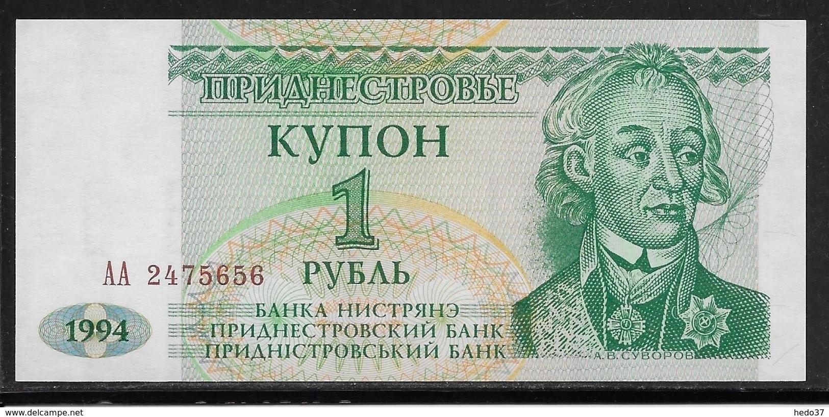 Transnistria - 1 Ruble - Pick N°16 - NEUF - Billets
