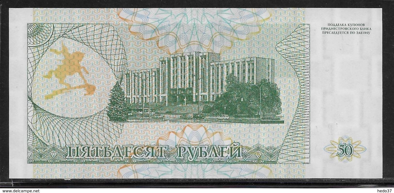 Transnistria - 50 Rublei - Pick N°19 - NEUF - Billets