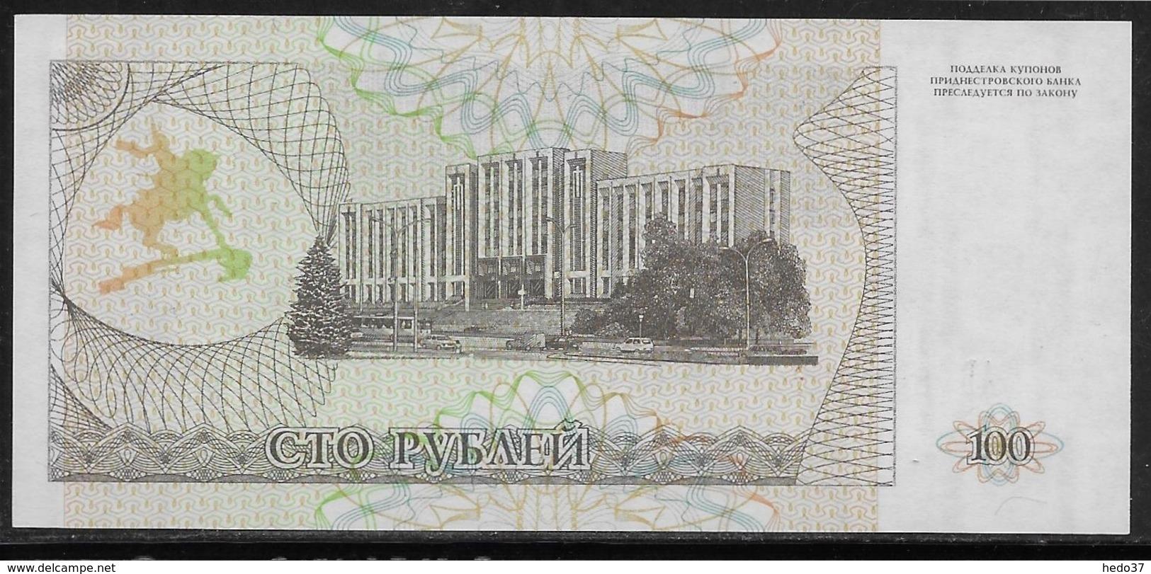 Transnistria - 100 Rublei - Pick N°20 - NEUF - Billets