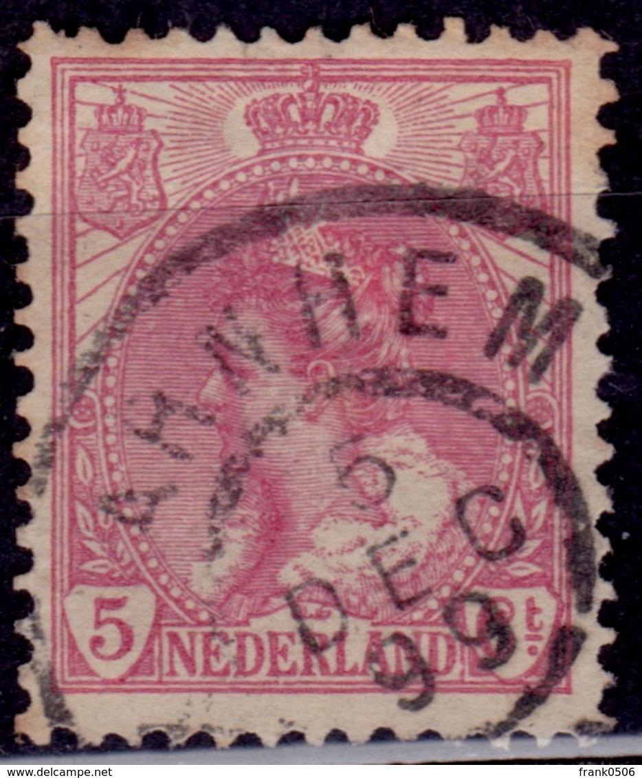 Netherlands, 1898-1924, Queen Wilhelmina, 5c, Sc#65, Used - 1891-1948 (Wilhelmine)