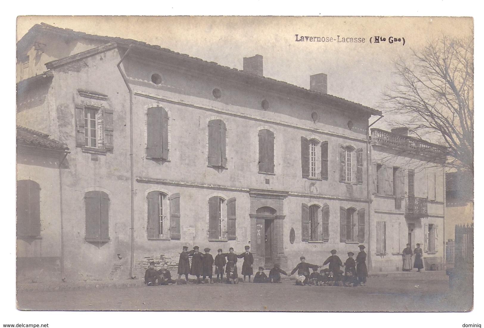 Lavernose - Lacasse ( L'école ), Carte Photo - Autres Communes