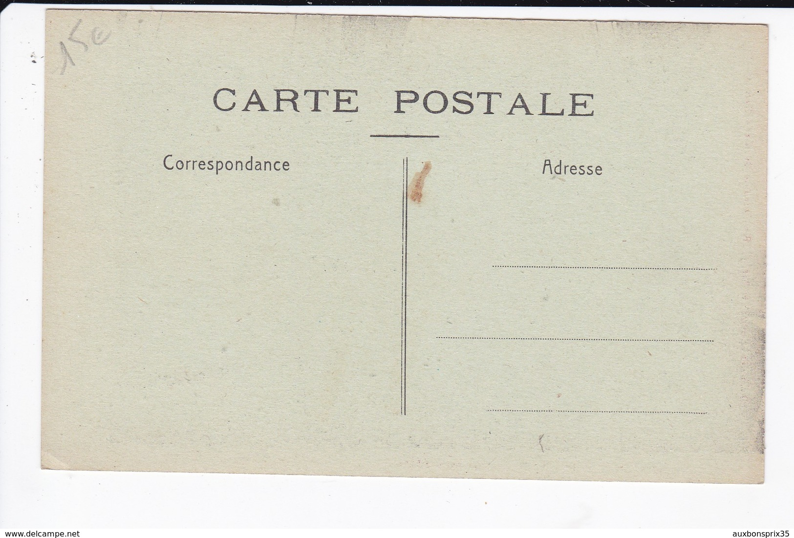CLICHE DES OEUVRES DE LA MER - UNE BELLE PECHE - Postcards