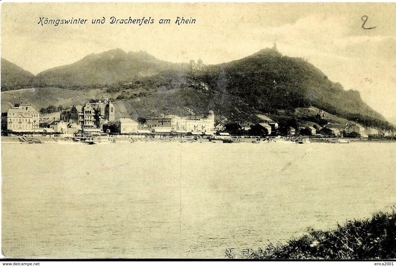 Koenigswinter. Koenigswinter Und Drachenfels Am Rhein. - Koenigswinter