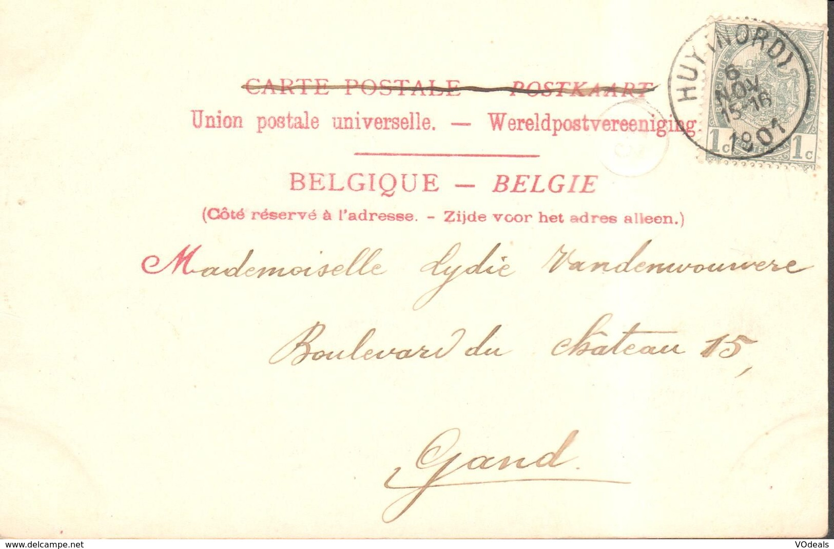 CPA - Belgique -  Liège - Huy - Vallée De La Meuse - Huy