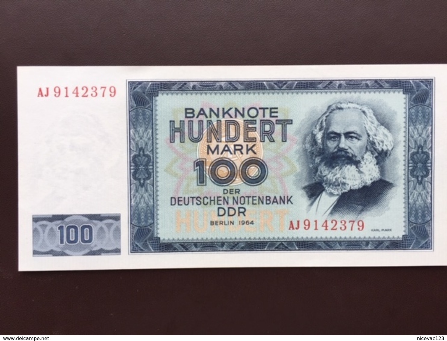 GERMANY DEM REP P26 100 MARK 1964 UNC - 100 Deutsche Mark
