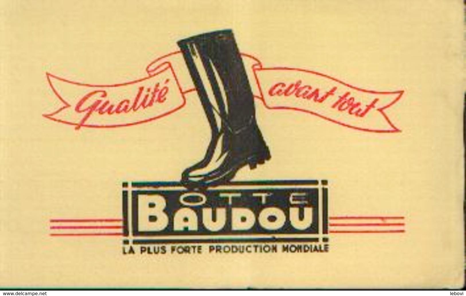 Buvard – Botte BAUDOU - B