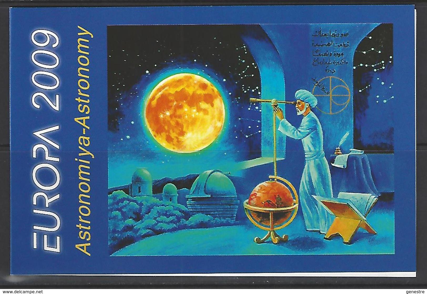 Azerbaïdjan / Azerbaycan - 2009 - Europa - BF78 (650/651) Astronomie  ** MNH - Aserbaidschan