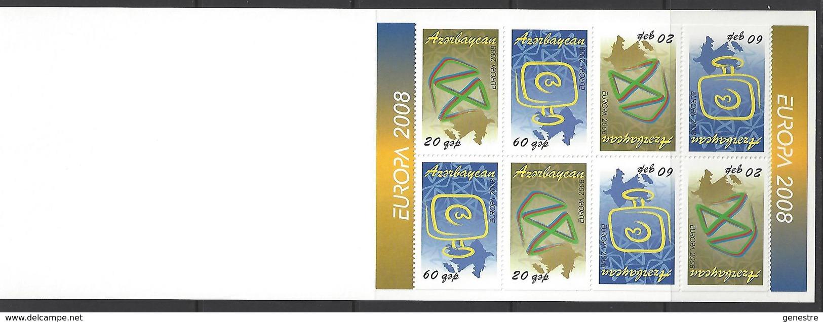Azerbaïdjan / Azerbaycan - 2008 - Europa  - BF76 (611/612) L'écriture D'une Lettre ** MNH - Azerbaïjan