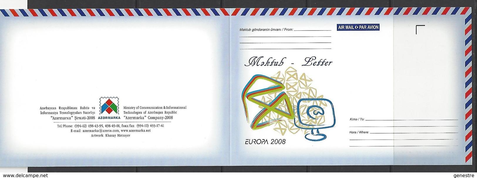 Azerbaycan - Europa 2008 - L'écriture D'une Lettre ** MNH - Azerbaïjan