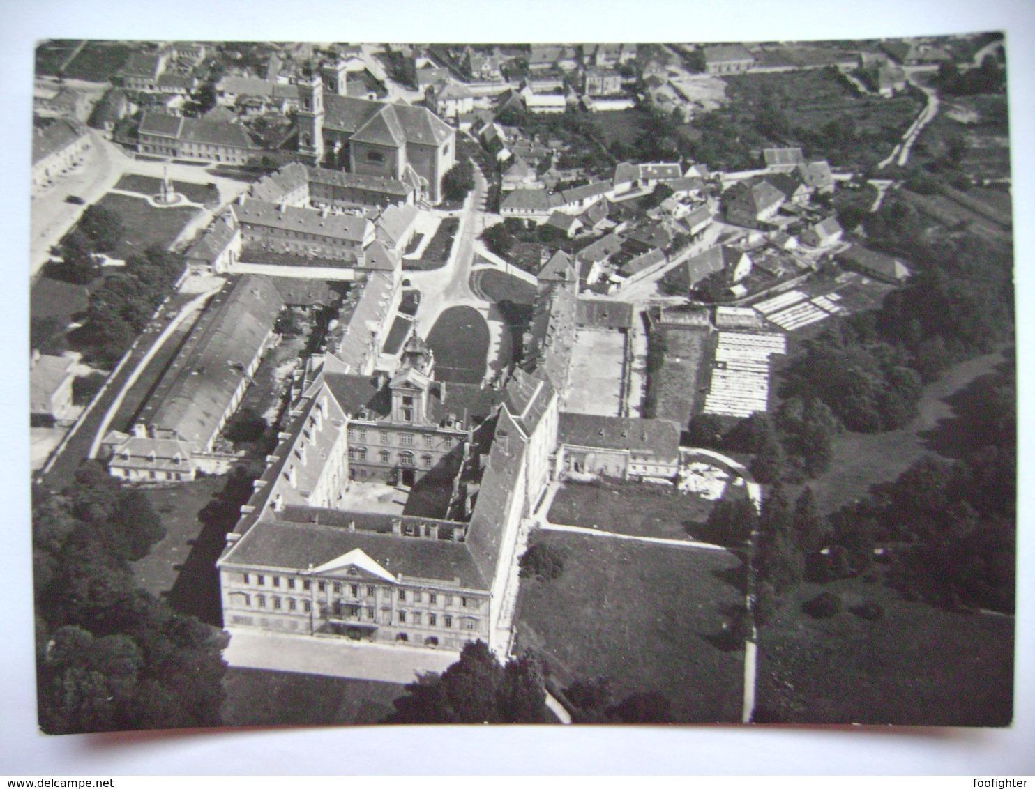 Czechoslovakia Castle Valtice - Aerial View - Posted 1965 - Schlösser