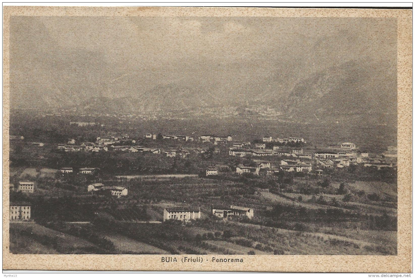 BUIA  Friuli  Panorama - Italie