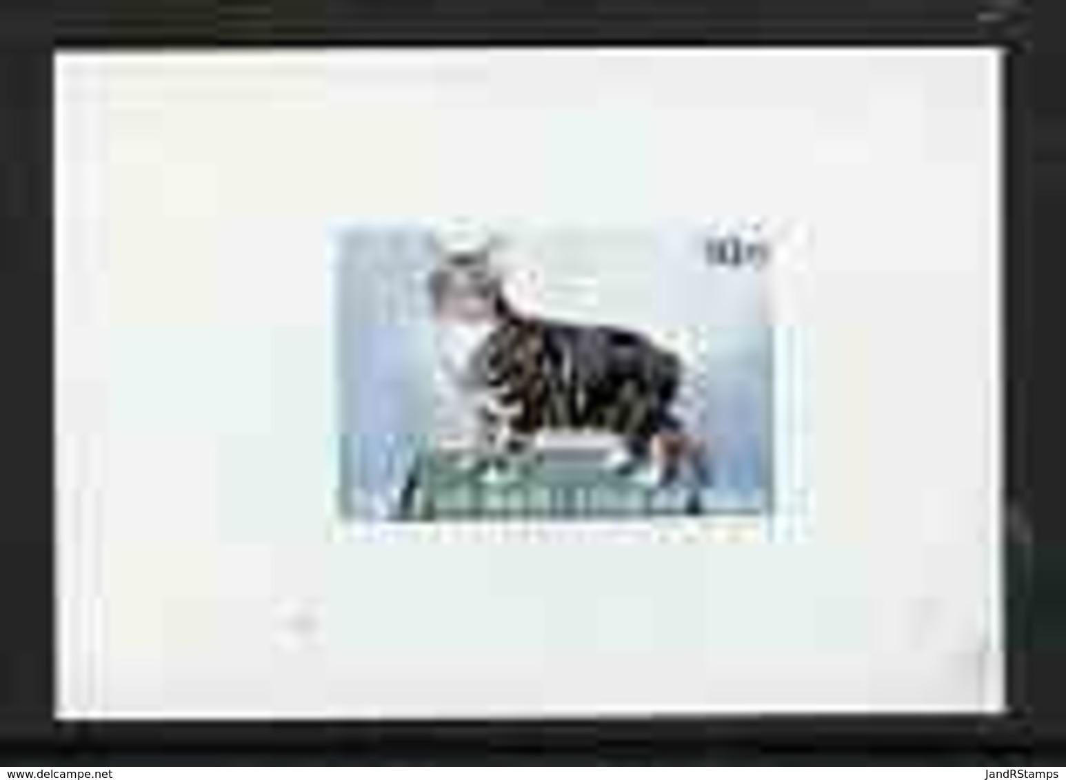 Calf Of Man 1970 Manx Cats Imperf M/sheet U/m (Rosen CA162MS) - Local Issues