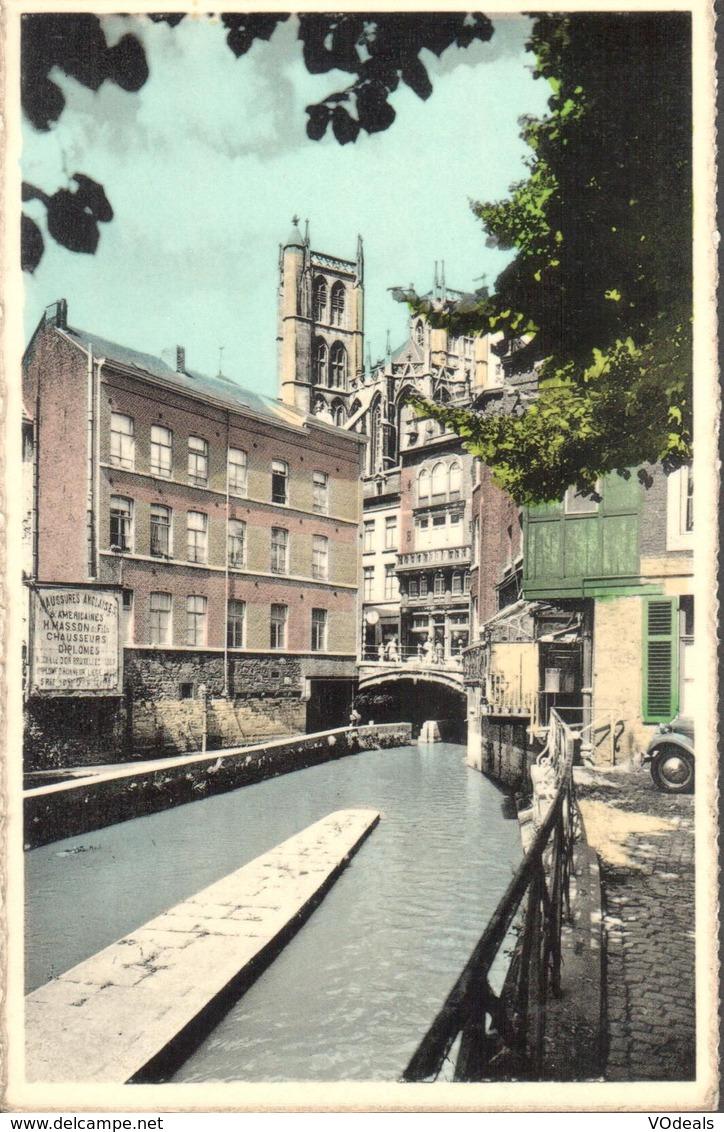 CPA - Belgique -  Liège - Huy - Le Hoyoux Et Le Pont Des Chaînes - Huy