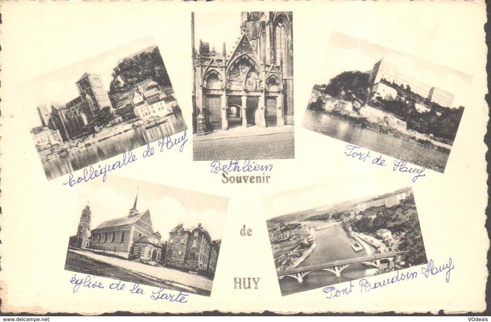 CPA - Belgique -  Liège - Huy - Souvenir De Huy - Huy