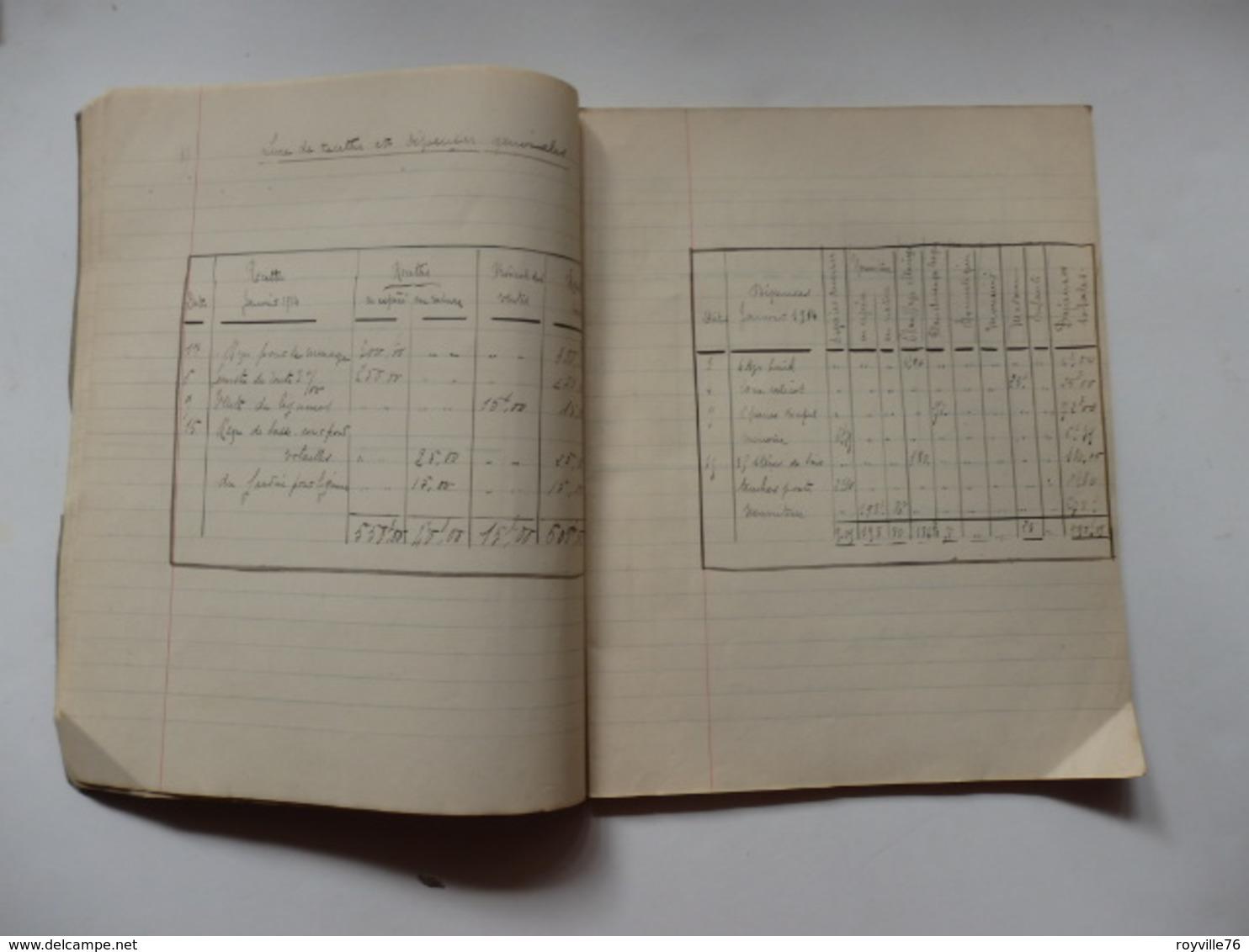 """Cahier D'école """"Les Chefs-d'oeuvre Des Grands Maîtres De L'école Hollandaise"""" Appartenant à Marie Houllier. - Altre Collezioni"""