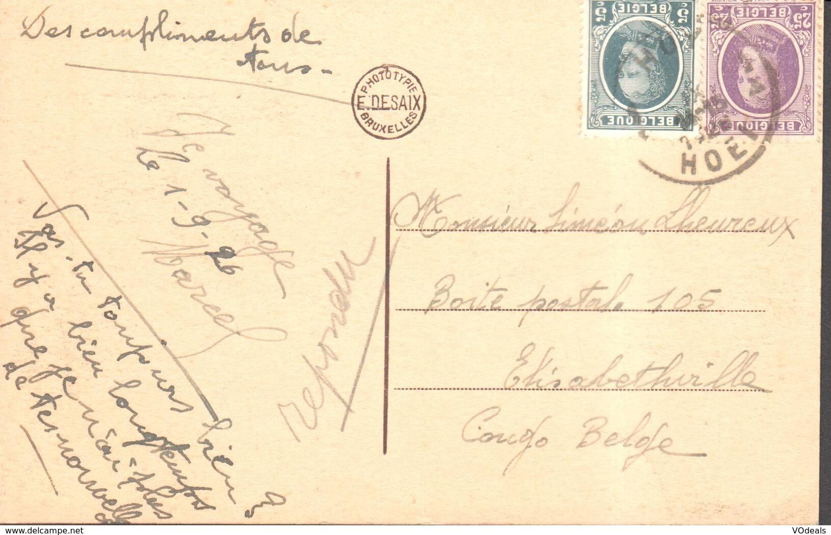 CPA - Belgique -  Liège - Huy - Le Fort - Huy