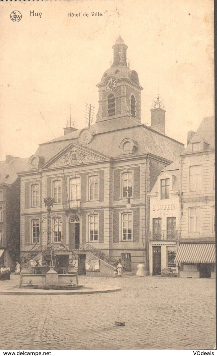 CPA - Belgique -  Liège - Huy - Hôtel De Ville - Huy