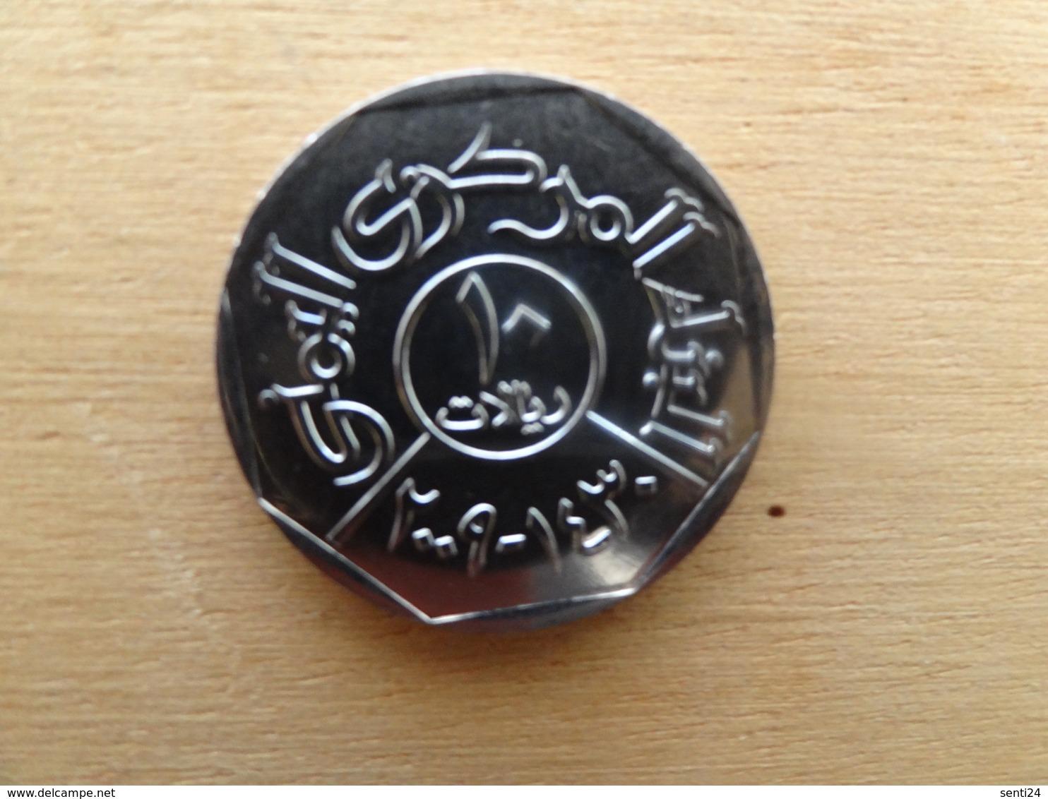 Yemen  10  Riyals  2009  Km 27 Neuve - Yémen