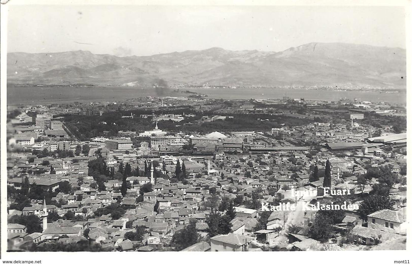 Ansichtskarte Von Izmir   Aus Dem Jahre  1956 - Türkei