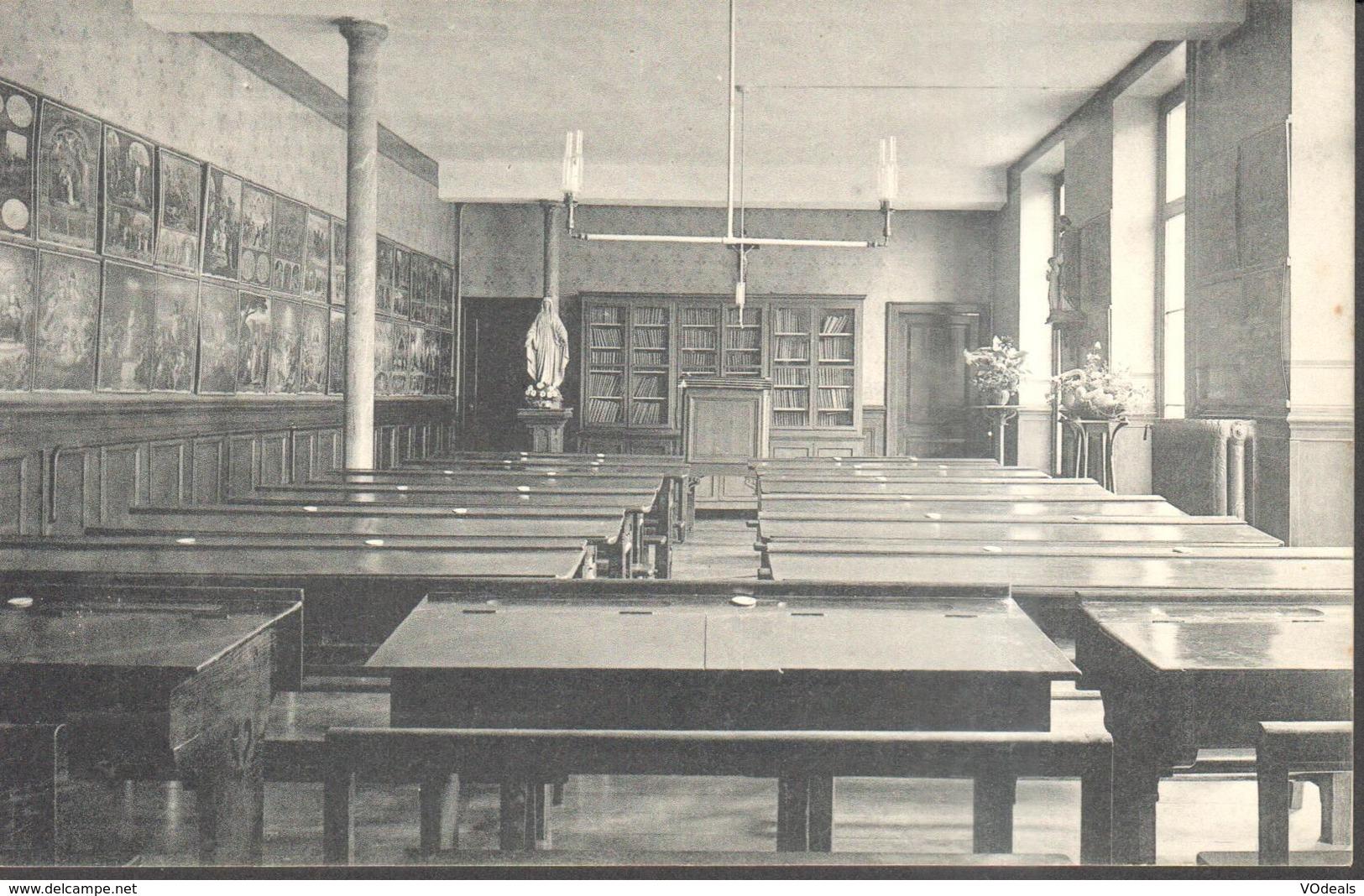 CPA - Belgique -  Liège - Huy - Sainte-Marie - Ecole Normale Et Pensionnat - Salle D'études - Huy