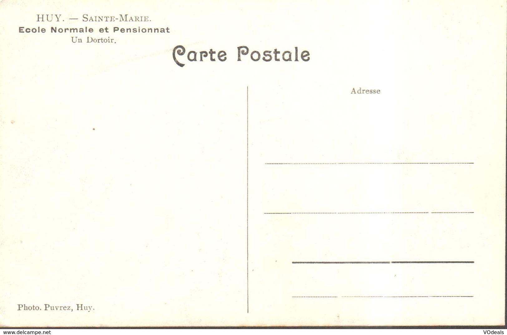 CPA - Belgique -  Liège - Huy - Sainte-Marie - Ecole Normale Et Pensionnat - Un Dortoire - Huy