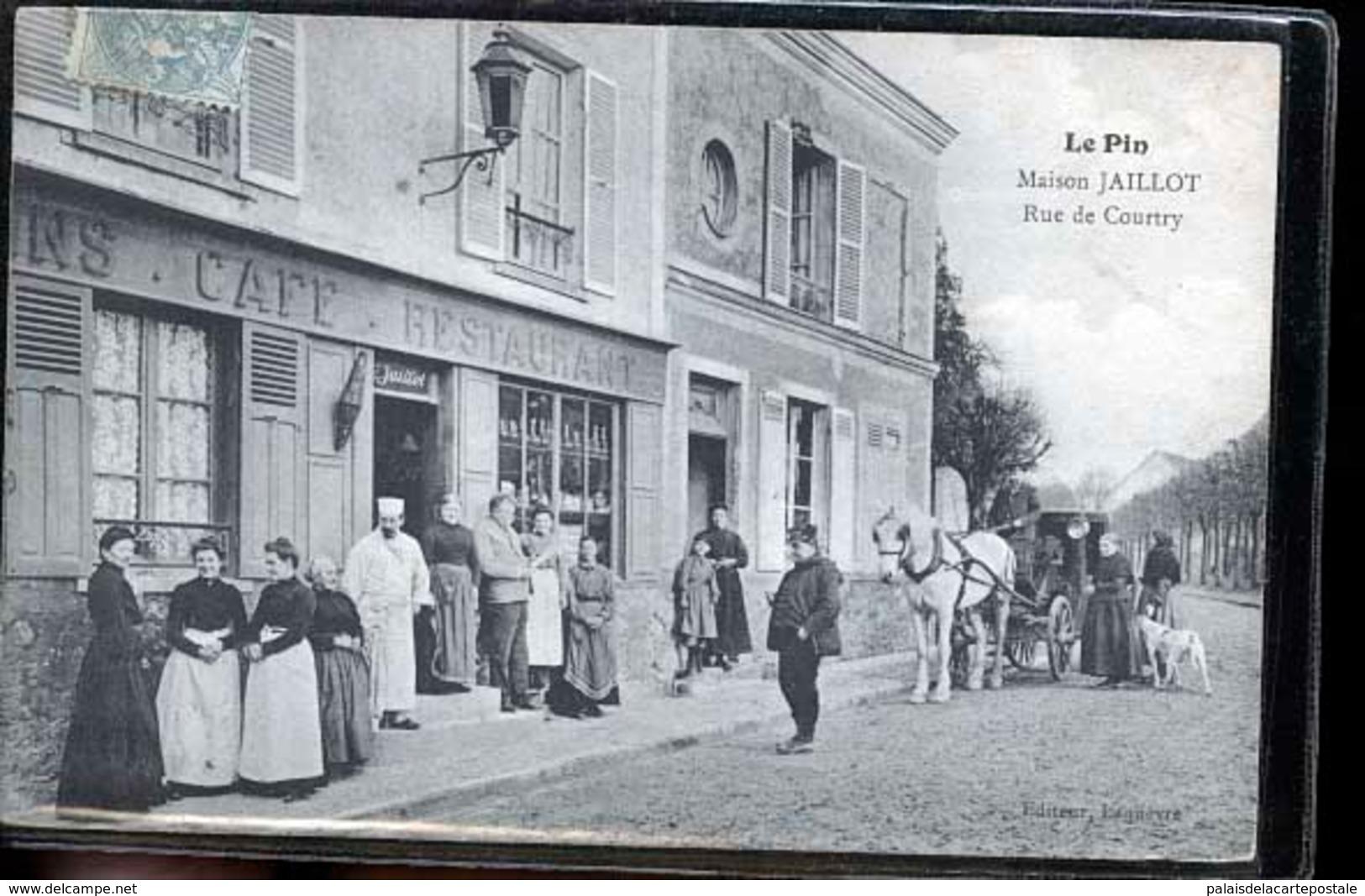 PIN MAISON JAILLOT CAFE RESTAURANT - Autres Communes