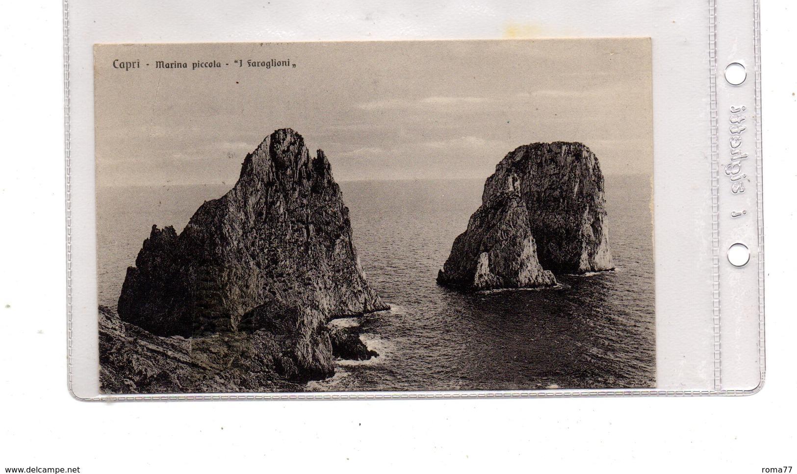 LAB409 - CAPRI 1929  ,  I Faraglioni - Napoli