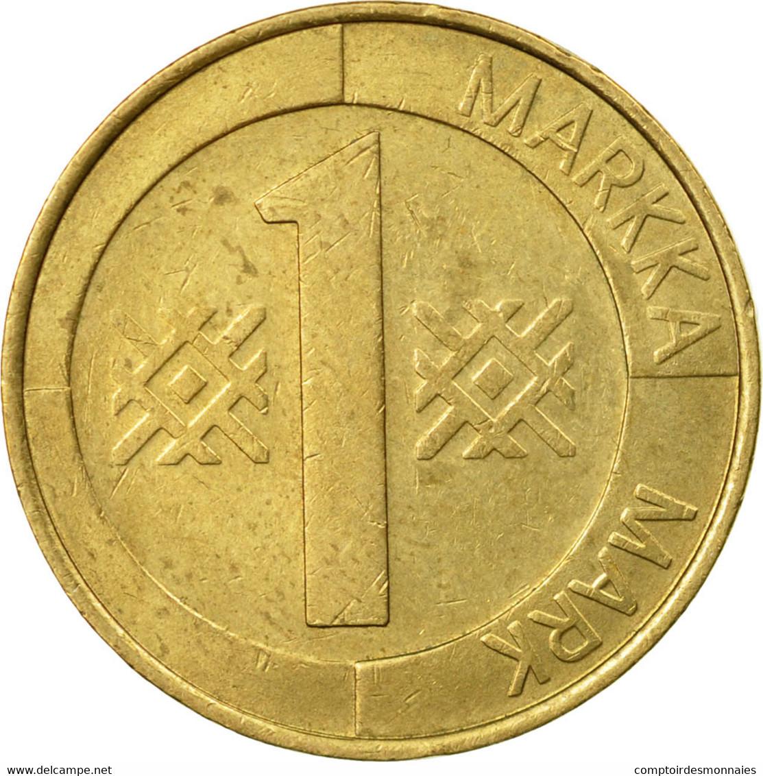 Monnaie, Finlande, Markka, 1993, TB+, Aluminum-Bronze, KM:76 - Finlande