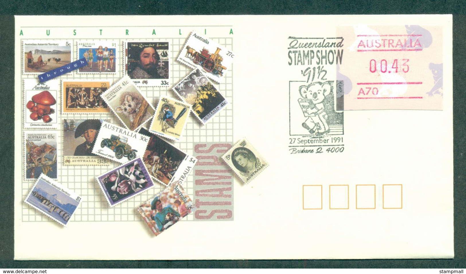 Australia 1991 Queensland Stamp Show 91? FDC Lot52378 - 1990-99 Elizabeth II