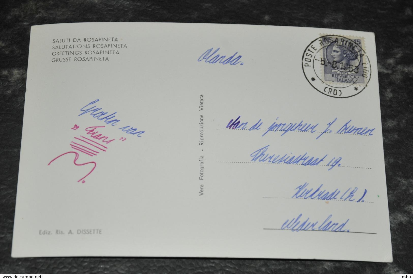 3428  Rosapineta - 1963 - Italia