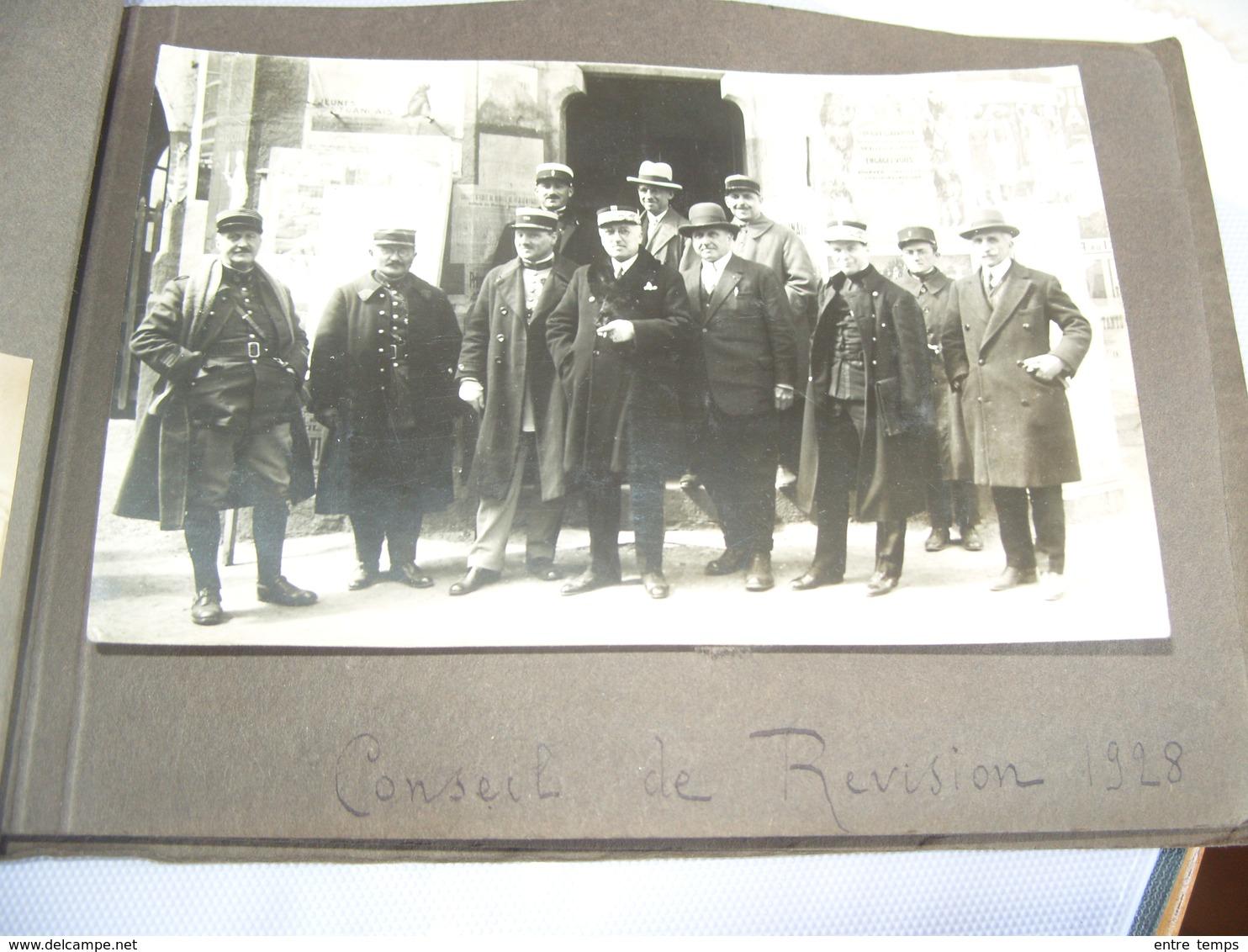 Carte Photo Ancenis 1928 Conseil De Révision - Ancenis