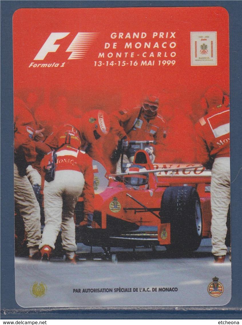 = Autocollant F1 Grand Prix De Monaco, Monte Carlo, 13-14-15-16 Mai 1999, Neuf - Automobile - F1