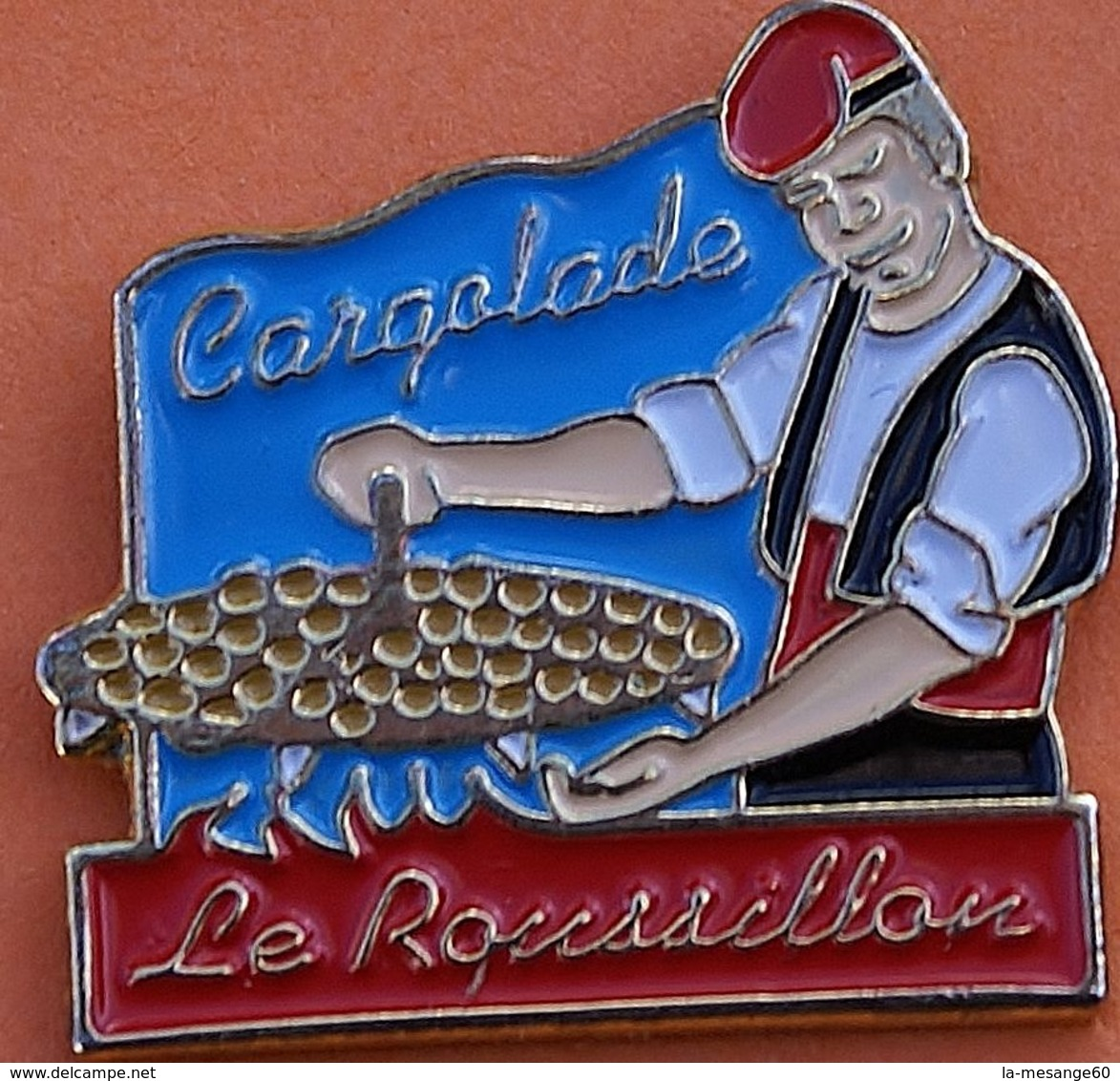 FF   184......ECUSSON..........REGION..........LE  ROUSSILLON - Pin's