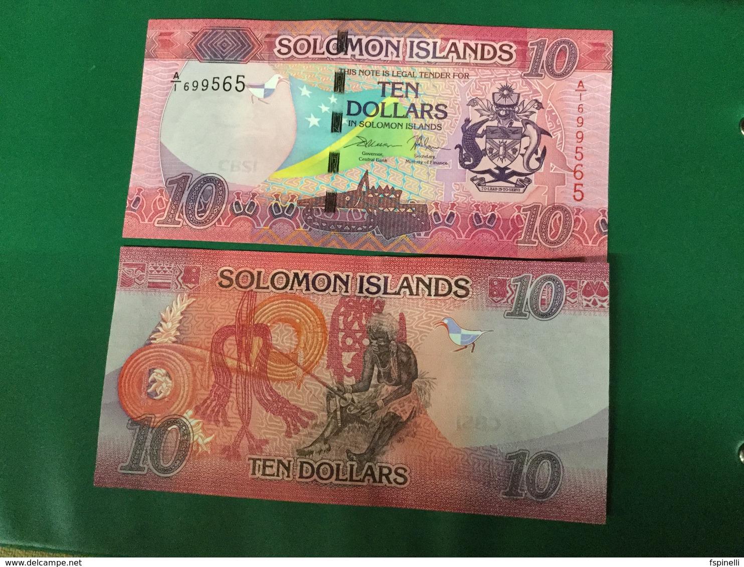 SOLOMON. Islands $ 10.  New Issue. 2018 - Salomons
